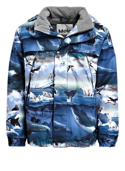 molo Skijacke CASTOR , Farbe: BLAU/ GRAU (Bild 1)