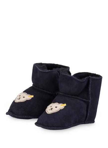 Steiff Fell-Boots SIENNA, Farbe: DUNKELBLAU (Bild 1)