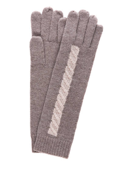 lilienfels Cashmere-Handschuhe, Farbe: TAUPE (Bild 1)