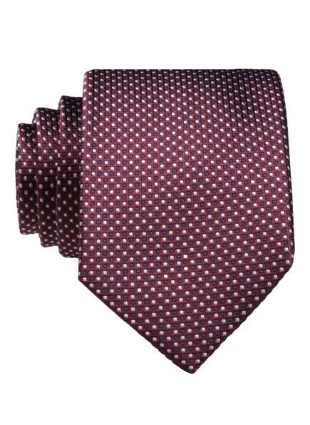 CINQUE Krawatte SALVO, Farbe: DUNKELROT/ HELLGRAU/ DUNKELBLAU (Bild 1)