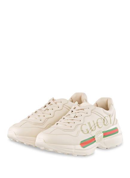 GUCCI Sneaker RHYTON, Farbe: ECRU (Bild 1)