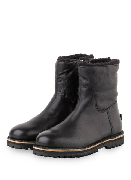 SHABBIES AMSTERDAM Boots, Farbe: SCHWARZ (Bild 1)