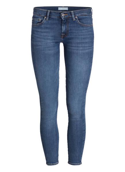 7 for all mankind Jeans THE SKINNY CROP, Farbe: BAIR VINTAGE DUSK BLUE (Bild 1)