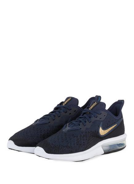 Nike Sneaker AIR MAX SEQUENT 4, Farbe: SCHWARZ/ GOLD (Bild 1)