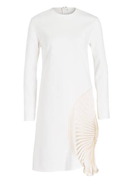 VICTORIABECKHAM Kleid mit Seidenbesatz, Farbe: OFFWHITE (Bild 1)