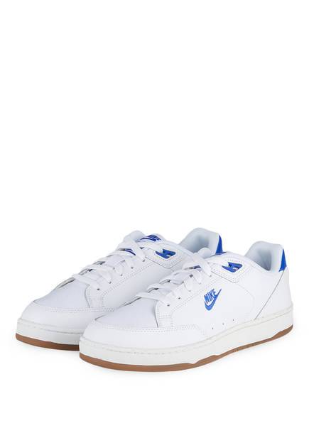 Nike Sneaker GRANDSTAND II PREMIUM , Farbe: WEISS/ BLAU (Bild 1)