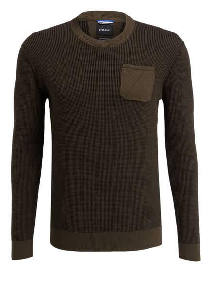 CHASIN' Pullover UNSEEN, Farbe: GRÜN (Bild 1)