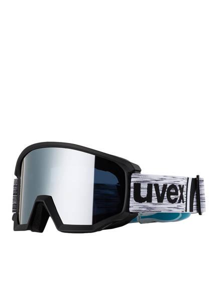 uvex Skibrille ATHLETIC, Farbe: SILBER/ SCHWARZ (Bild 1)