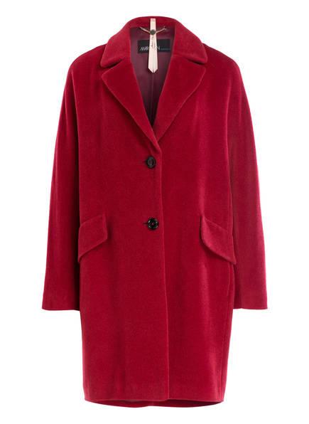 MARCCAIN Mantel mit Alpaka-Anteil , Farbe: 288 BURGUNDY (Bild 1)