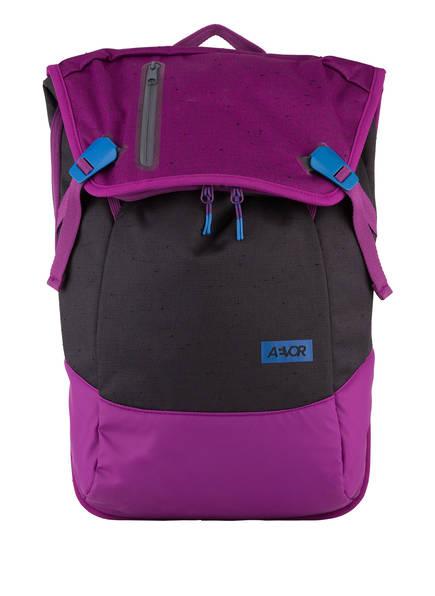 AEVOR Rucksack DAYPACK mit Laptopfach, Farbe: DUNKELGRAU/ LILA (Bild 1)