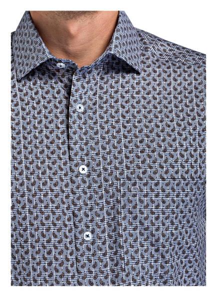 Fit Modern Blau Olymp Braun Luxor Hemd ngwv4xw8q6