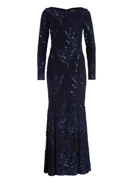LAUREN RALPH LAUREN Abendkleid LILAMINA, Farbe: NAVY (Bild 1)