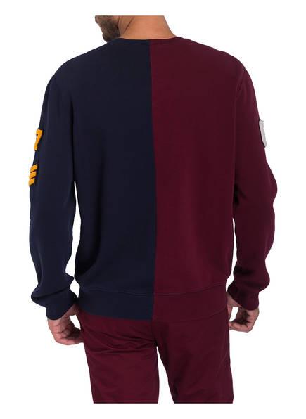 Lauren Navy Sweatshirt Ralph Polo Dunkelrot 50qnvYw