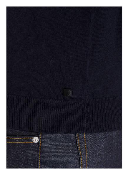 Dunkelblau Aus Pullover Merinowolle Lagerfeld Karl UqwI68n8