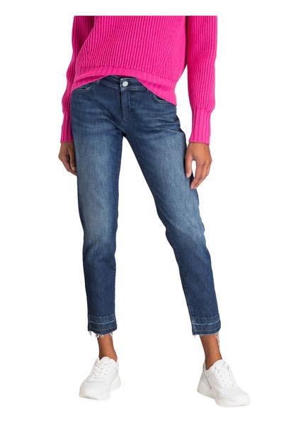 Blue Cropped Rossi Used jeans Jane Raffaello wqB4xOT7W