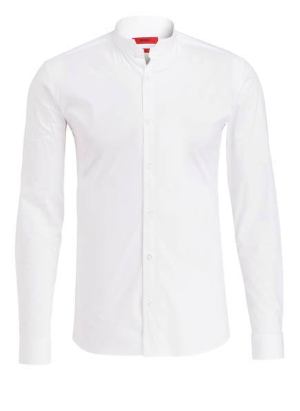 HUGO Hemd ELVORINI Extra Slim Fit mit Stehkragen, Farbe: WEISS (Bild 1)