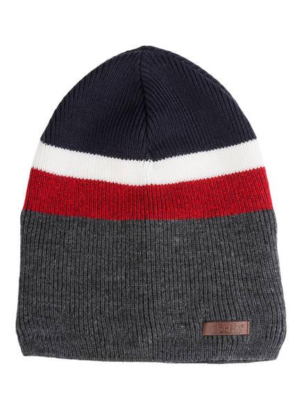 Barts Mütze BLAZER , Farbe: GRAU/ BLAU/ ROT (Bild 1)