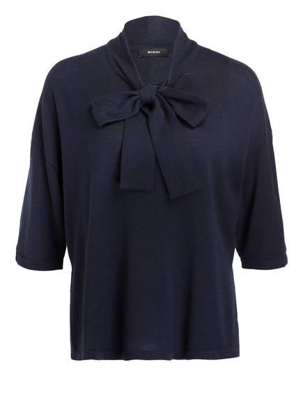 RIANI Pullover mit Schluppe, Farbe: DUNKELBLAU (Bild 1)