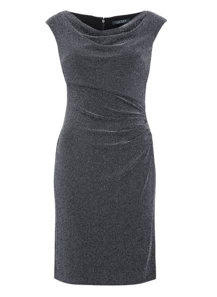 LAUREN RALPH LAUREN Kleid, Farbe: SCHWARZ/ SILBER (Bild 1)