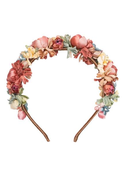 SCHÖNES FRÄULEIN Blumen-Haarreif SOPHERL, Farbe: ROSA/ GELB/ MINT (Bild 1)