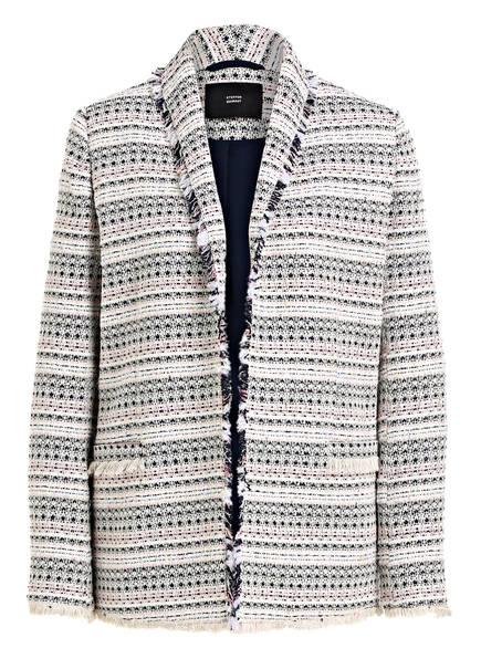 STEFFEN SCHRAUT Blazer-Jacke, Farbe: CREME/ DUNKELBLAU/ ROSA (Bild 1)