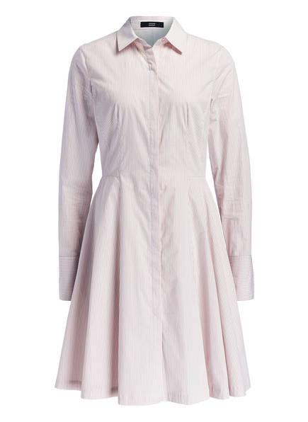 STEFFEN SCHRAUT Hemdblusenkleid , Farbe: BEIGE/ WEISS GESTREIFT (Bild 1)