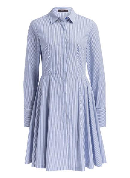 STEFFEN SCHRAUT Hemdblusenkleid, Farbe: BLAU/ WEISS GESTREIFT (Bild 1)