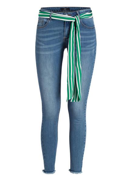 STEFFEN SCHRAUT 7/8-Jeans , Farbe: FUNKY GREEN WHITE BLUE (Bild 1)