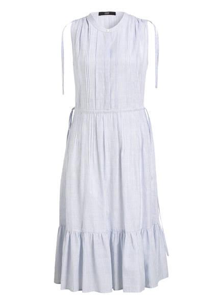 STEFFEN SCHRAUT Kleid mit Leinen, Farbe: BLAU/ WEISS GESTREIFT (Bild 1)