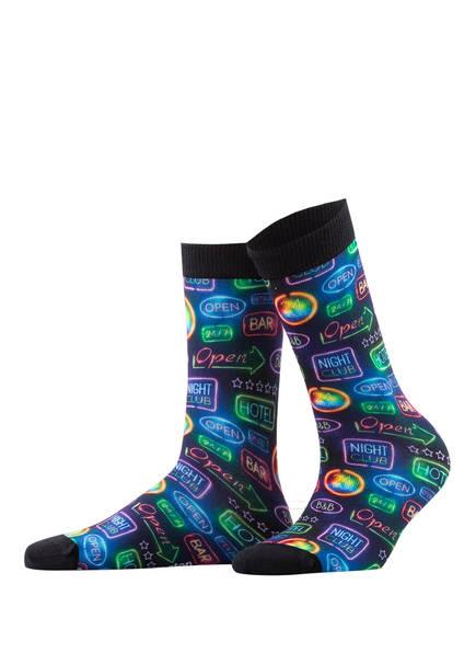 Burlington Socken, Farbe: 3000 BLACK (Bild 1)