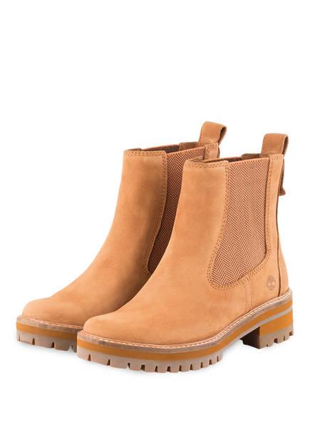 24% Sale Timberland Chelsea Boots Courmayeur Valley braun