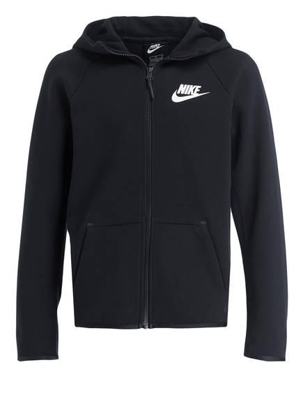 Nike Sweatjacke TECH FLEECE ESSENTIALS, Farbe: SCHWARZ (Bild 1)