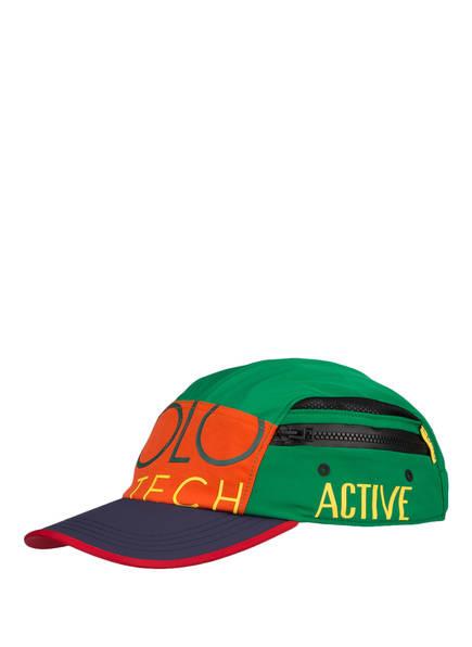 POLO RALPH LAUREN Cap, Farbe: GRÜN/ BLAU/ ORANGE (Bild 1)