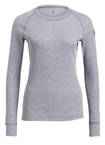odlo Funktionswäsche-Shirt HENRIETTE, Farbe: GRAU MELIERT (Bild 1)