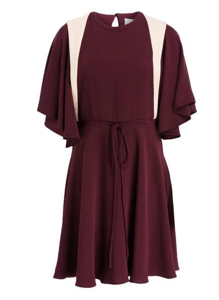 VALENTINO Seidenkleid, Farbe: BORDEAUX/ CREME (Bild 1)