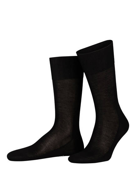 FALKE Socken NO. 9, Farbe: 3000 BLACK (Bild 1)