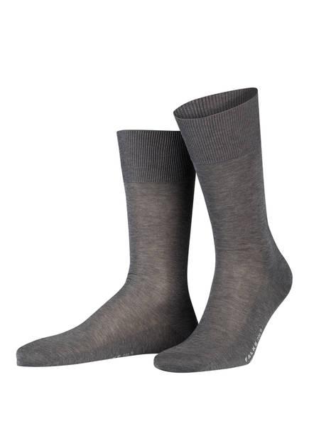 FALKE Socken LUXURY NO. 9, Farbe: 3390 LIGHT GREYMELANGE (Bild 1)