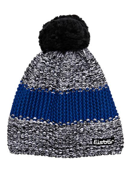 Eisbär Mütze STYLER, Farbe: GRAU/ BLAU MELIERT (Bild 1)
