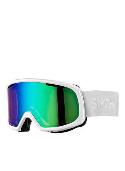 SMITH Skibrille RIOT, Farbe: WEISS/ GRÜN (Bild 1)