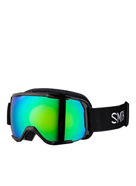 SMITH Skibrille GROM, Farbe: SCHWARZ/ GRÜN (Bild 1)
