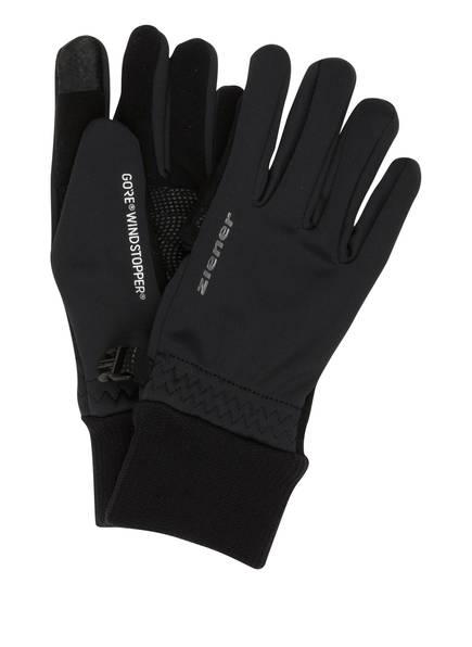 ziener Handschuhe LIDEALIST, Farbe: SCHWARZ (Bild 1)