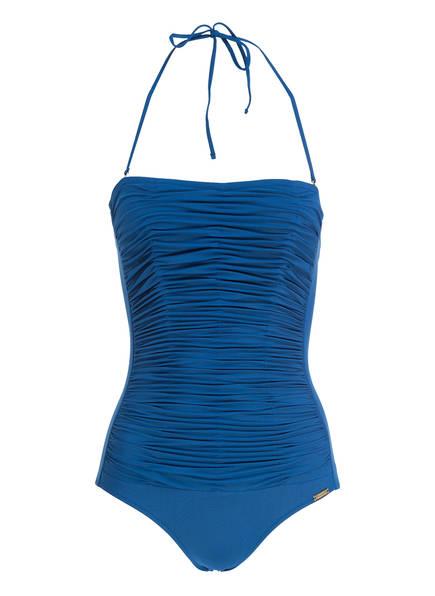 MARYAN MEHLHORN Bandeau-Badeanzug, Farbe: BLAU (Bild 1)
