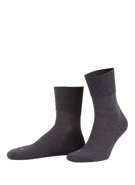 FALKE Socken RUN ERGO, Farbe: 3970 DARK GREY (Bild 1)