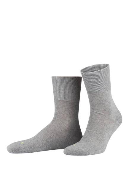 FALKE Socken RUN ERGO, Farbe: 3400 LIGHT GREY (Bild 1)