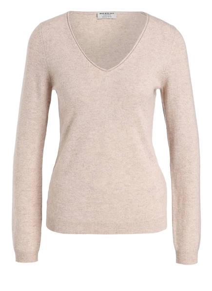 REPEAT Cashmere-Pullover, Farbe: BEIGE (Bild 1)