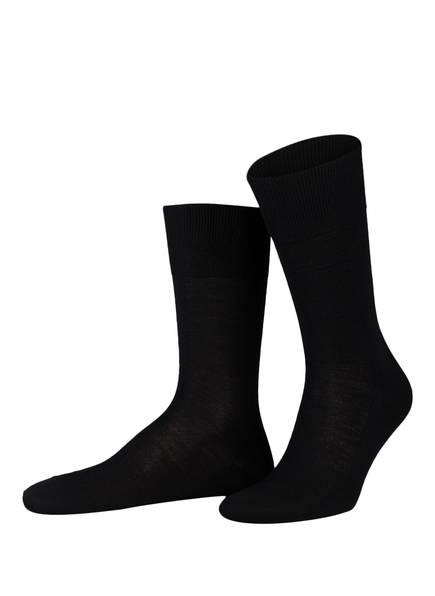 FALKE Socken NO. 6 , Farbe: 3000 BLACK (Bild 1)