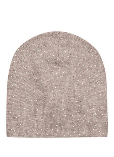 BALMUIR Mütze ST. MORITZ mit Cashmere-Anteil, Farbe: SAND (Bild 1)