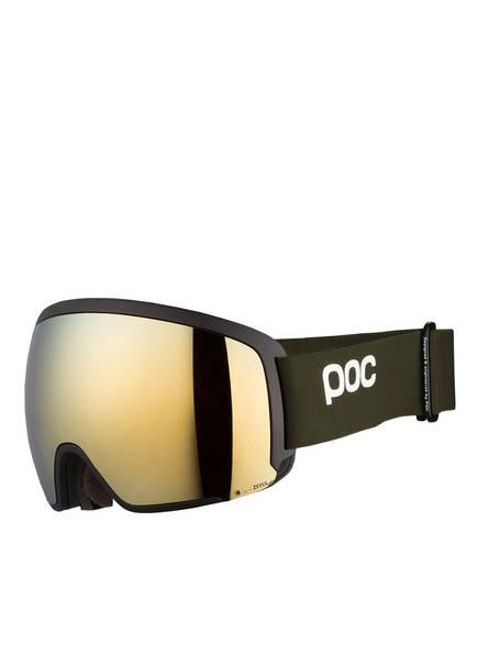 poc Skibrille ORB CLARITY, Farbe: KHAKI/ GOLD (Bild 1)