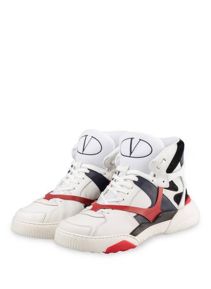 VALENTINO GARAVANI Hightop-Sneaker MADE ONE, Farbe: WEISS/ ROT (Bild 1)