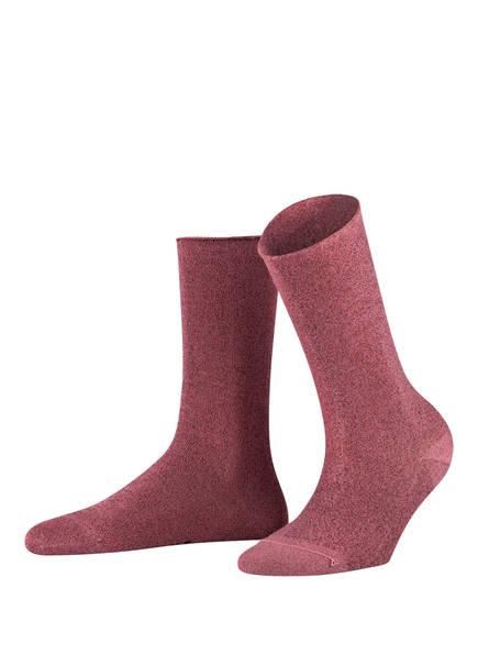 FALKE Socken SHINY, Farbe: 8630 DESERT ROSE (Bild 1)